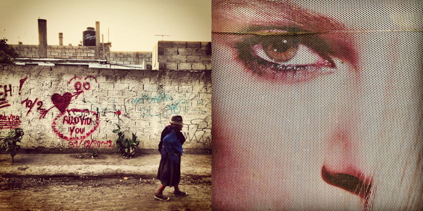 Warmi y Bloques  (Woman and Blocks)   ||  El Ojo del Consumismo  (The Eye ofConsumerism)