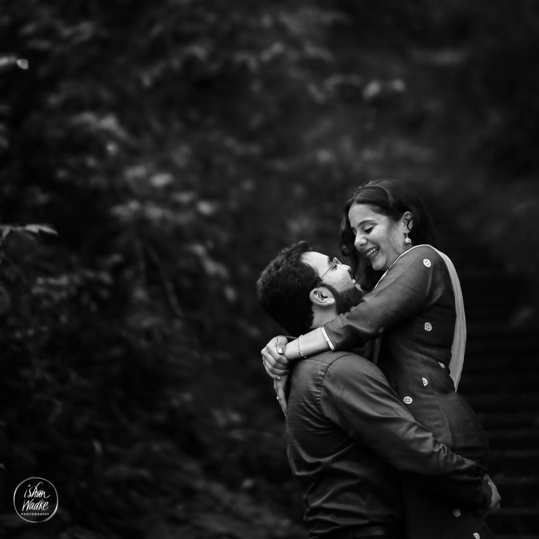 ANAND & SAYLEE - Ishan is the right choice for you if you are a reluctant customer as I was. We had approached Ishan for our pre wedding shoot, a concept I wasn't very comfortable with. But with Ishan it turned out to be quite an enjoyable experience and I would recommend it to everyone ! Right from his punctuality and friendly approach to the amazing end product I am completely thrilled that we chose to do this with him. You will get an amazing collection of pictures , which you will cherish for a lifetime!