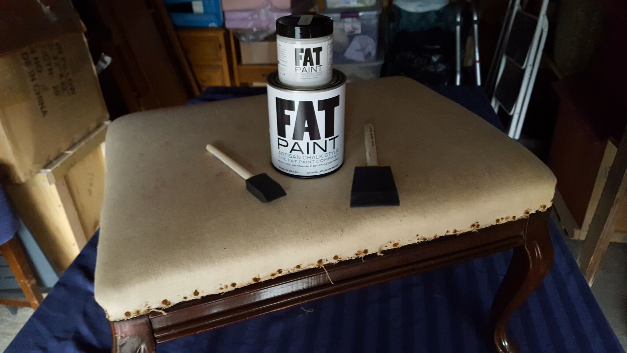 FAT paint - color Pewter