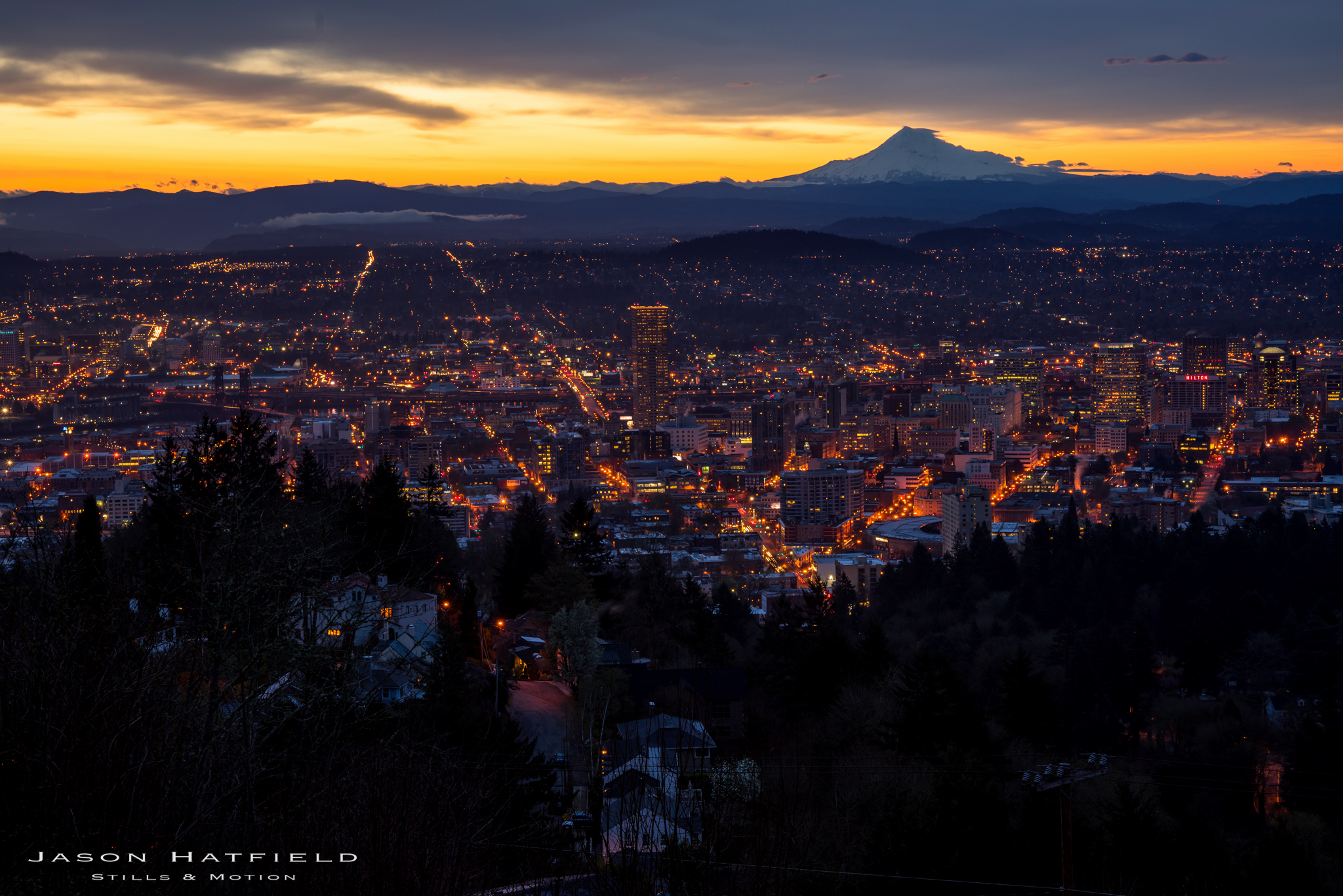 Pre-sunrise Portland