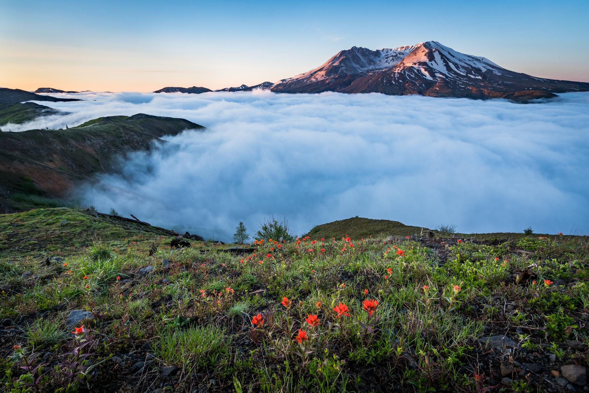 Mount St. Helens Sunrise
