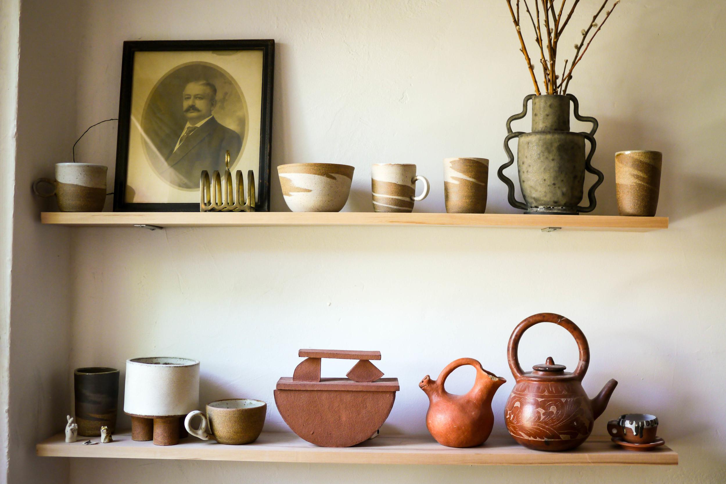 Helen Levi's ceramics