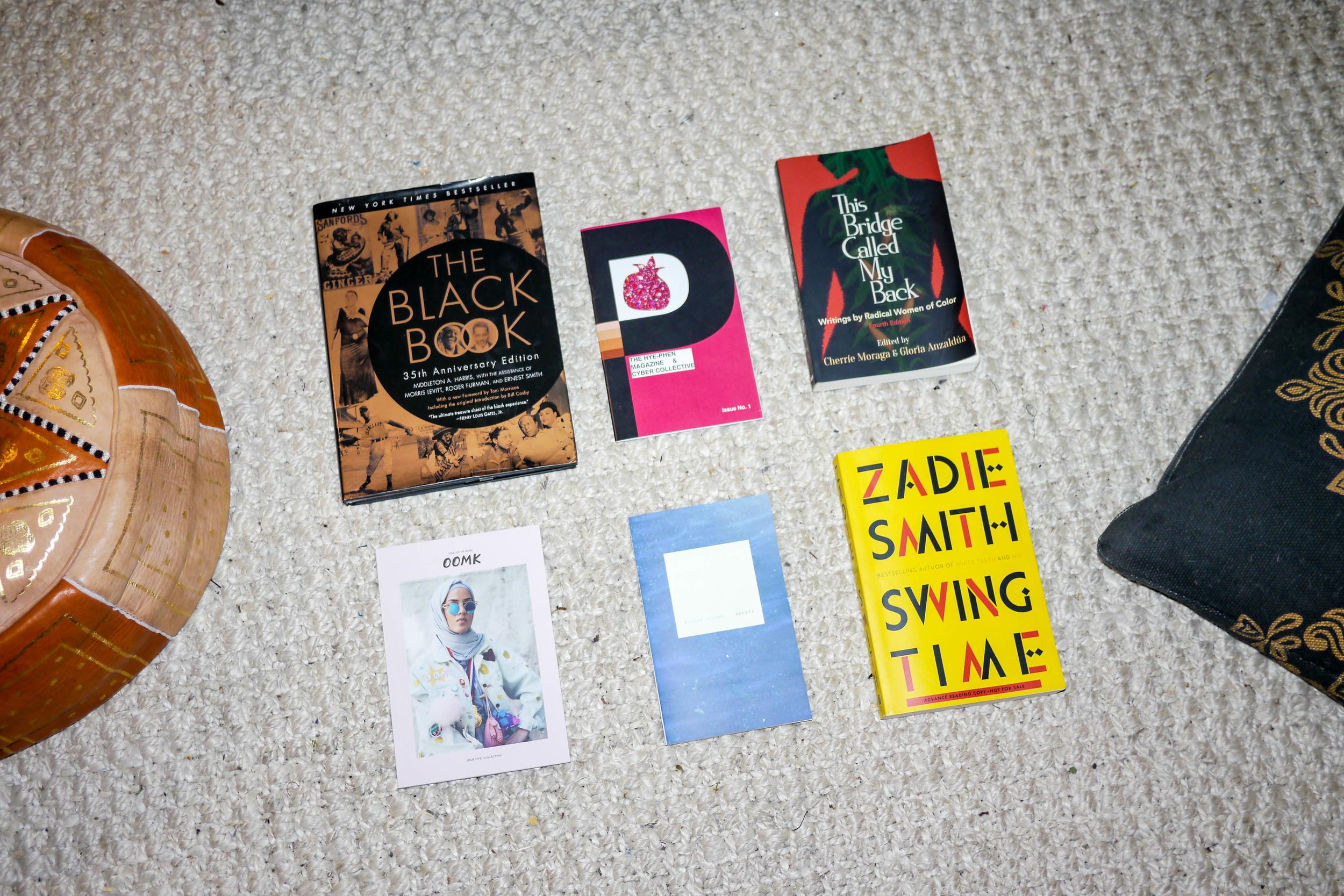 Jenna's favorite books