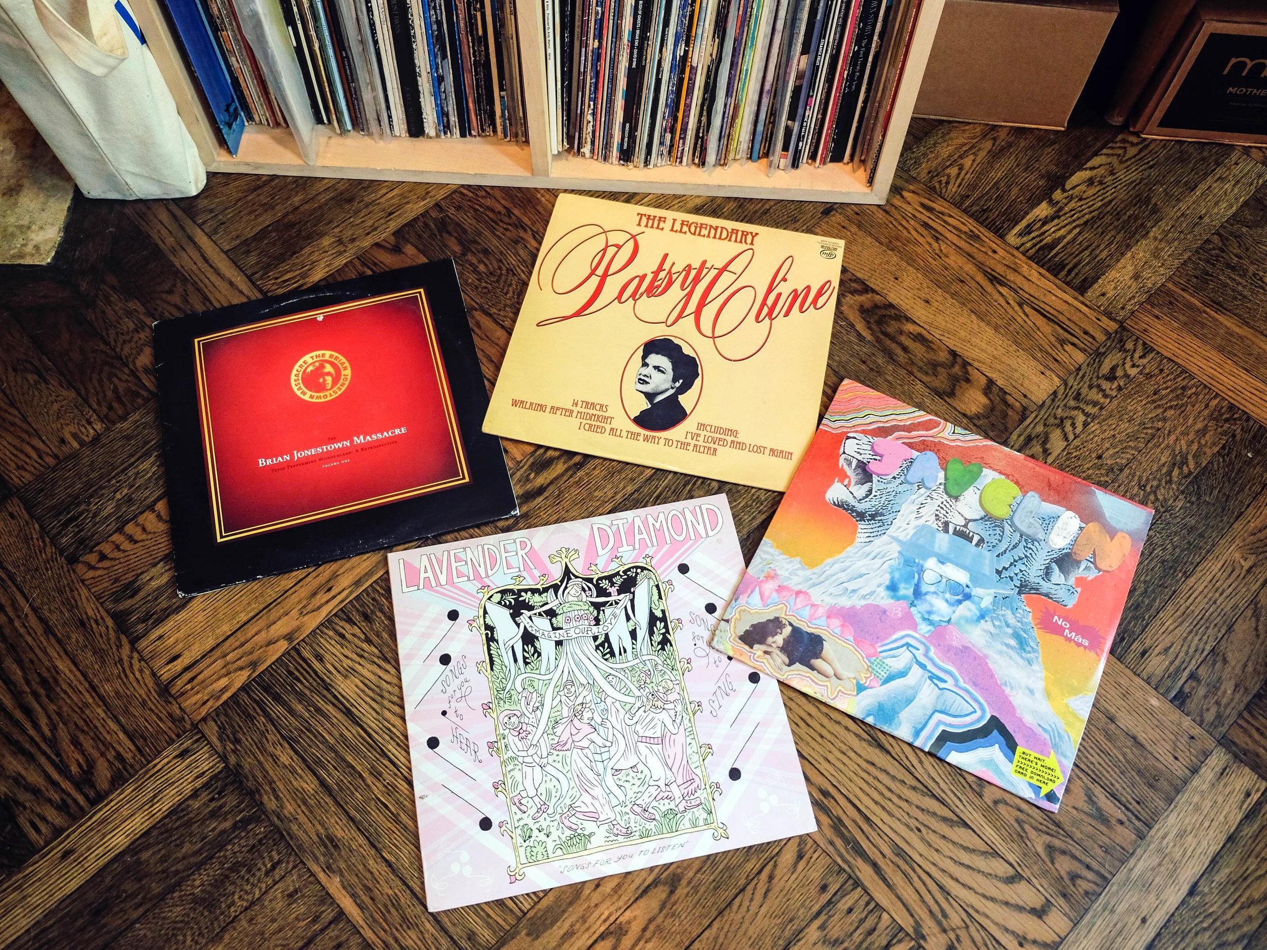 Julia's favorite records