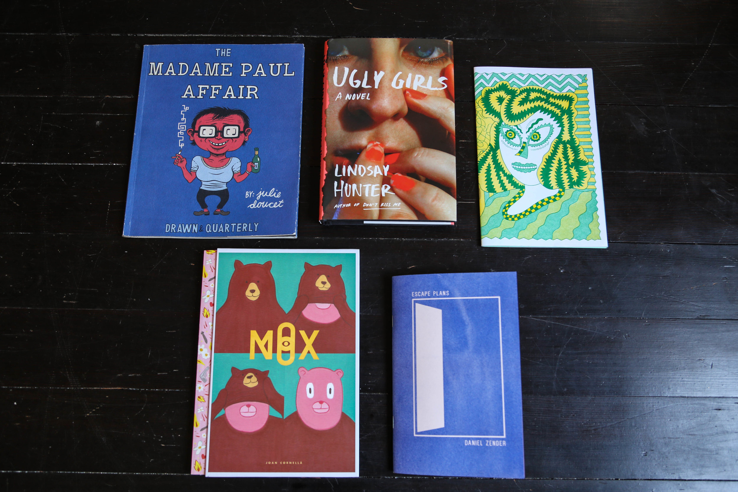 Tuesday's favorite books