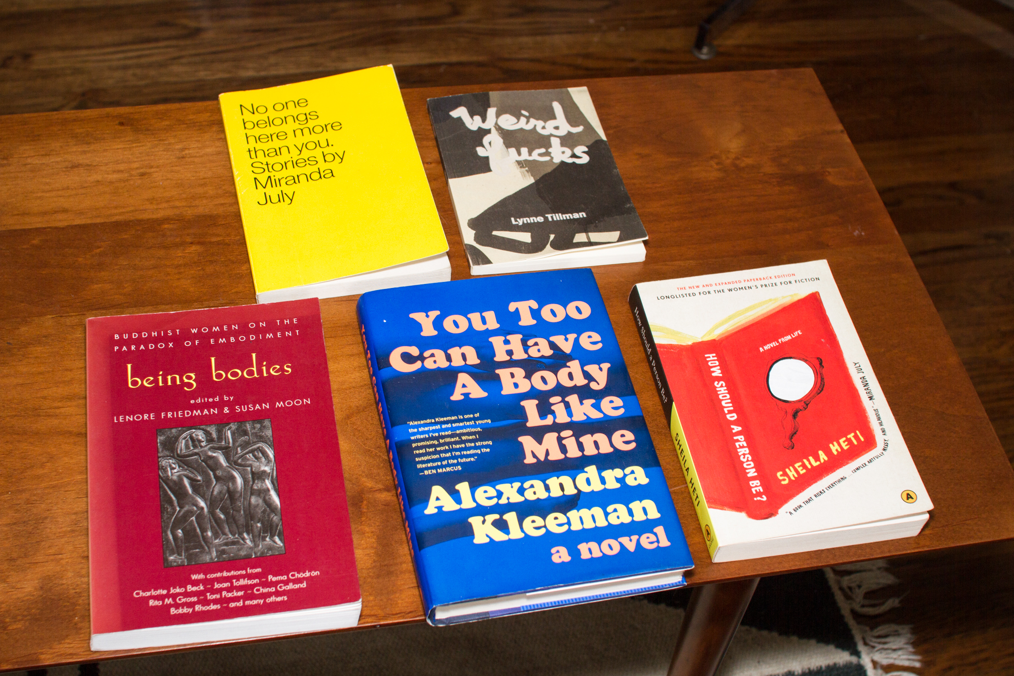 Some of Nada's favorite books