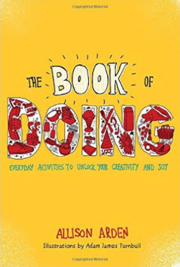 the book of doing allison arden