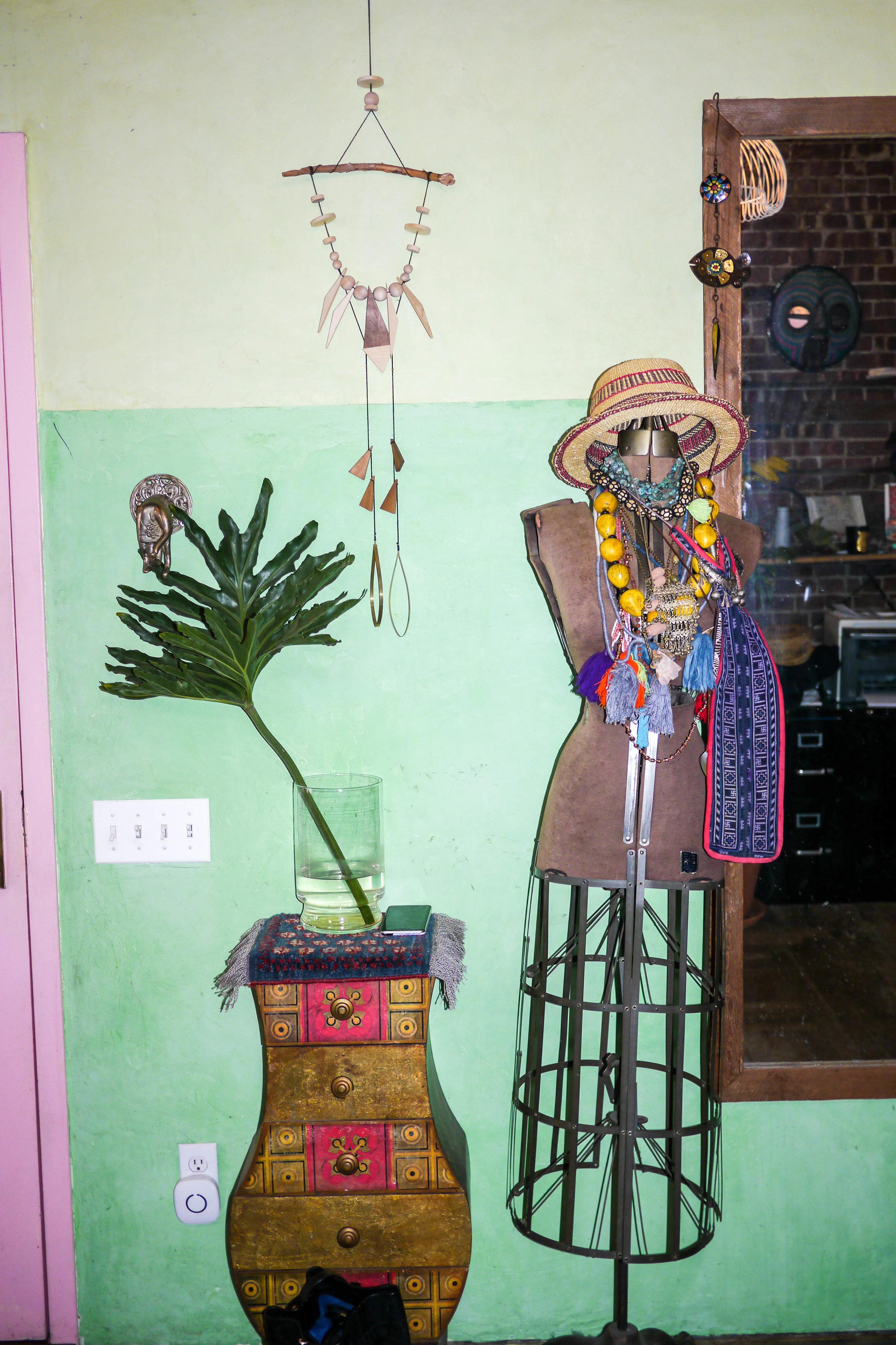 Sybil's living room