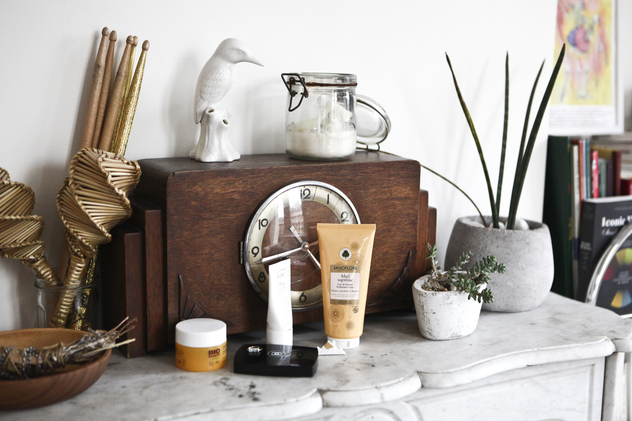 Clémence's favorite beauty products