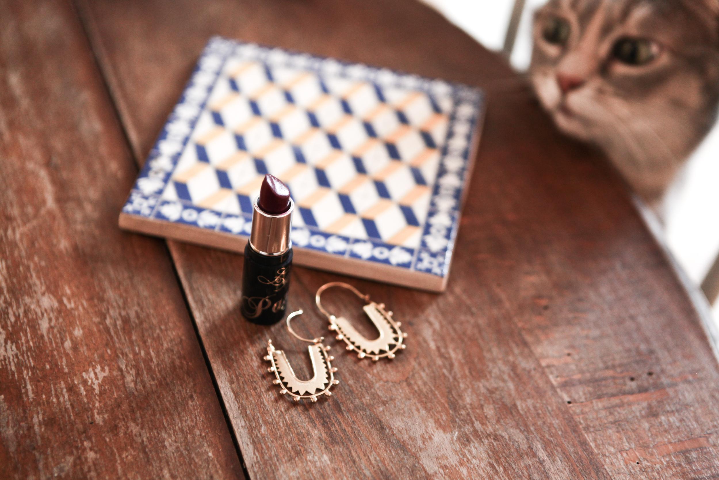 Earrings: Mama Mushi