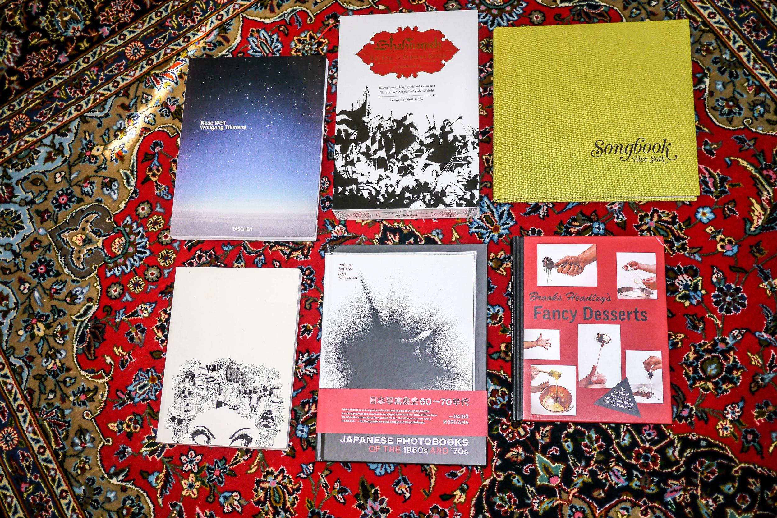Sunny's Favorite Books