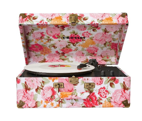 Crosley Radio Keepsake Portable Turntable - Floral