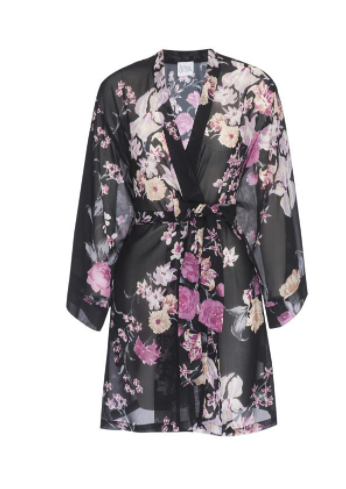 Helena Quinn Silk Floral Robe