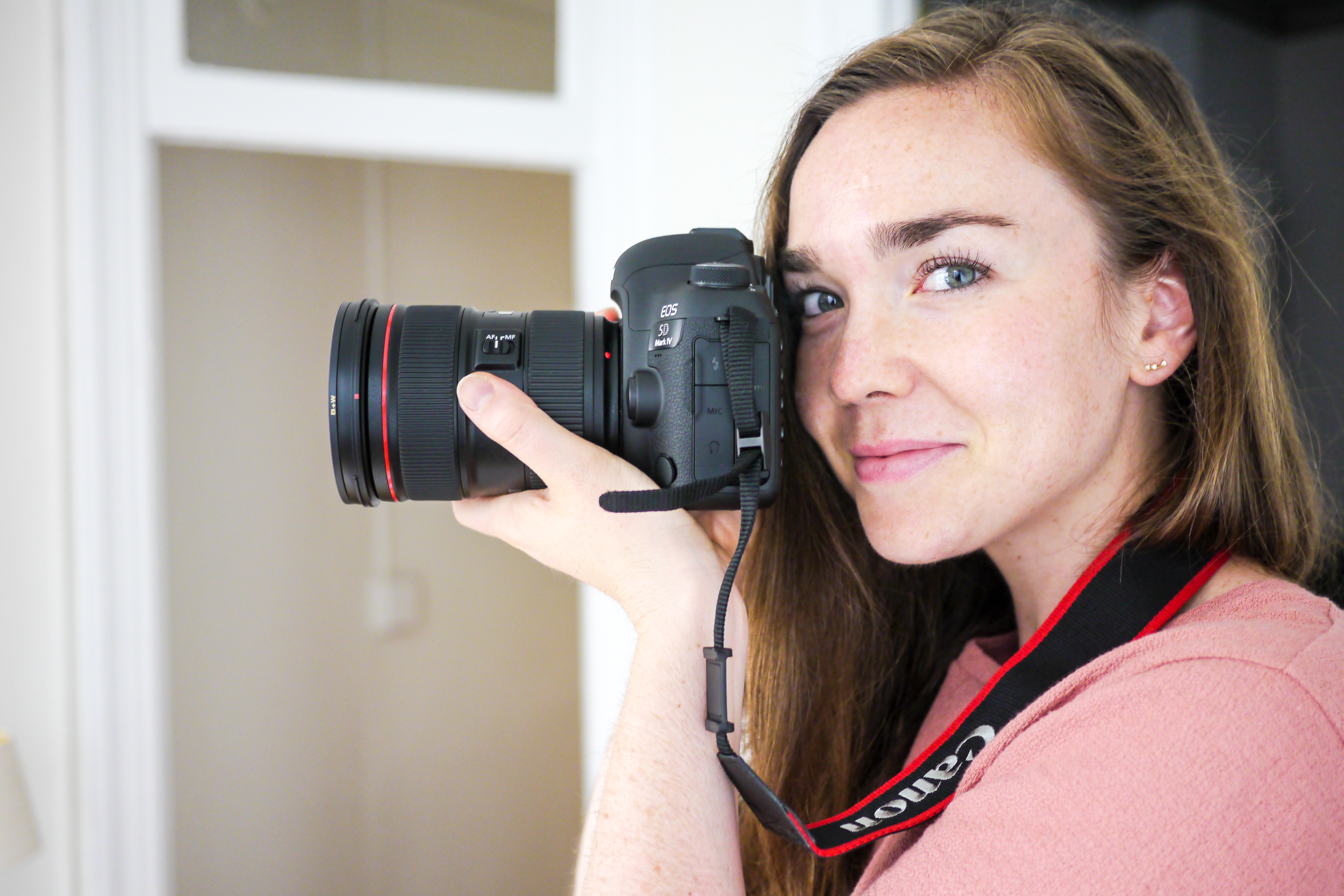 Top, Madewell ; Camera, Canon