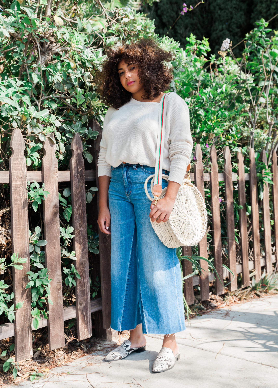 Top: Aritzia   ,    Jeans: Madewell