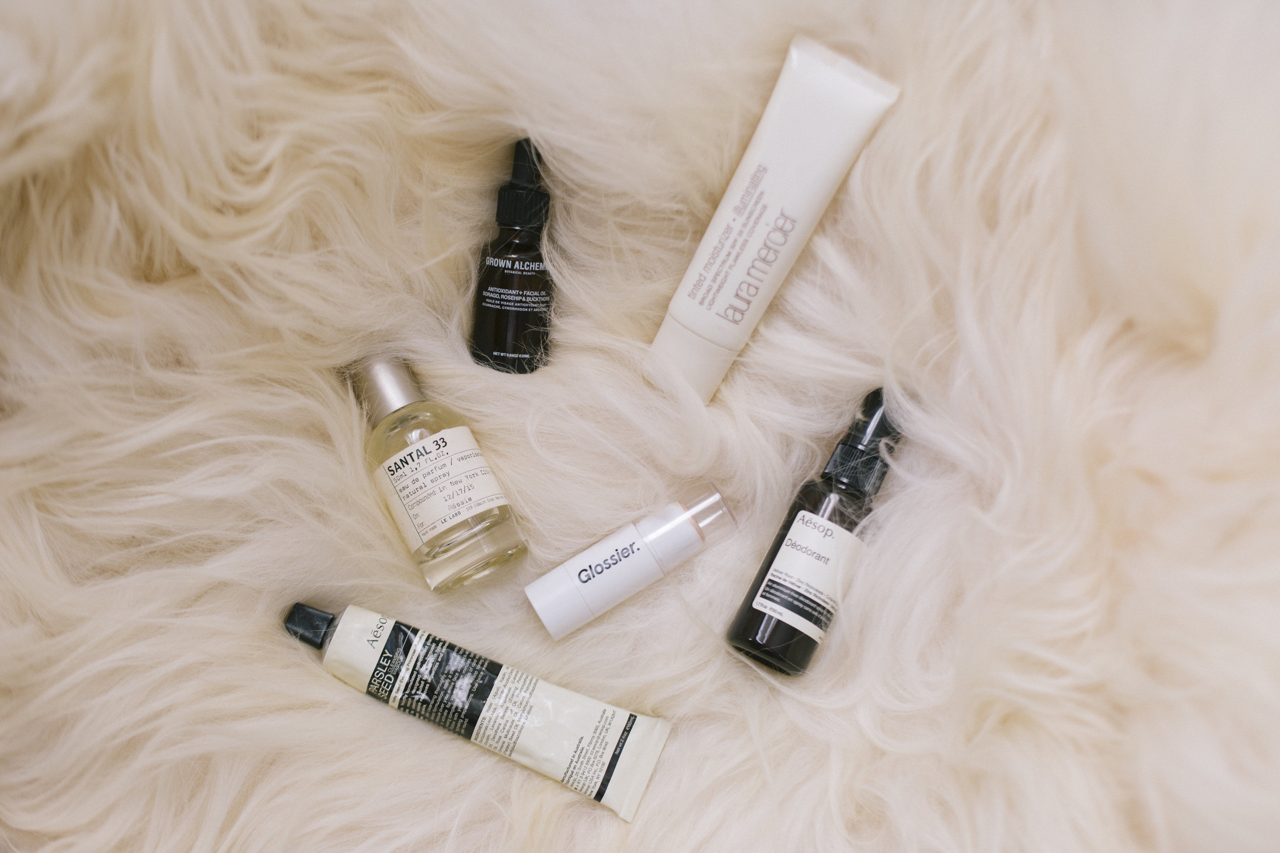 Jessie's favorite beauty products