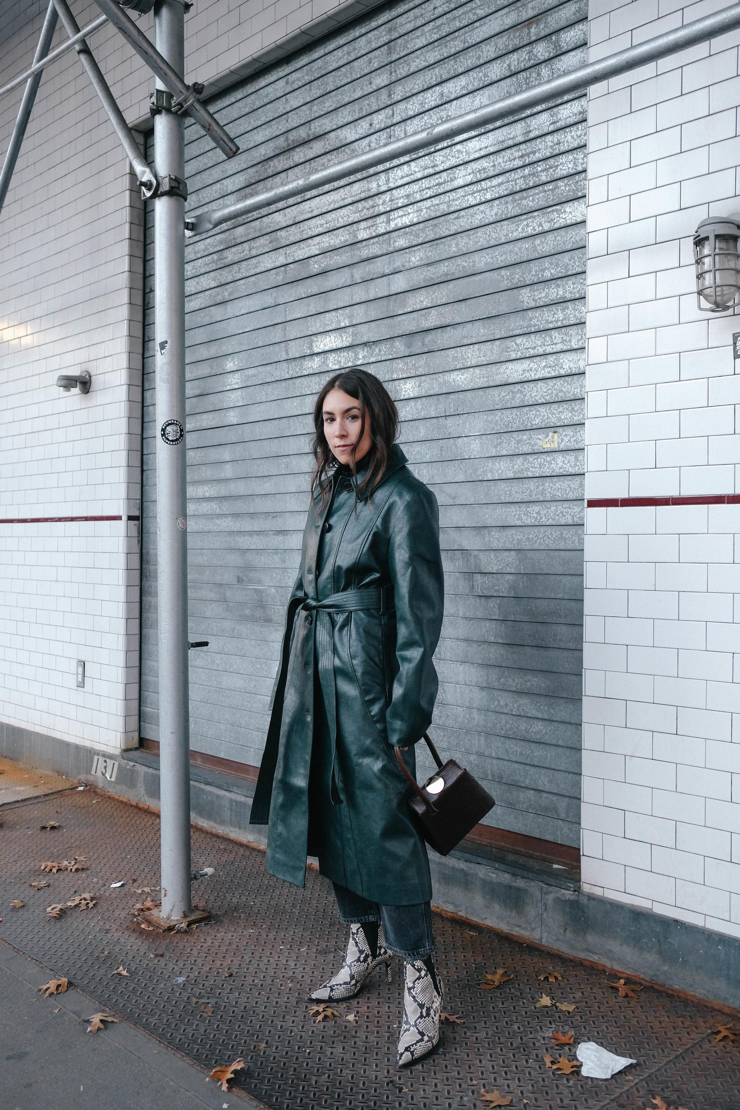Pixie Market Leather Coat, Need Supply Pants, Zara Boots