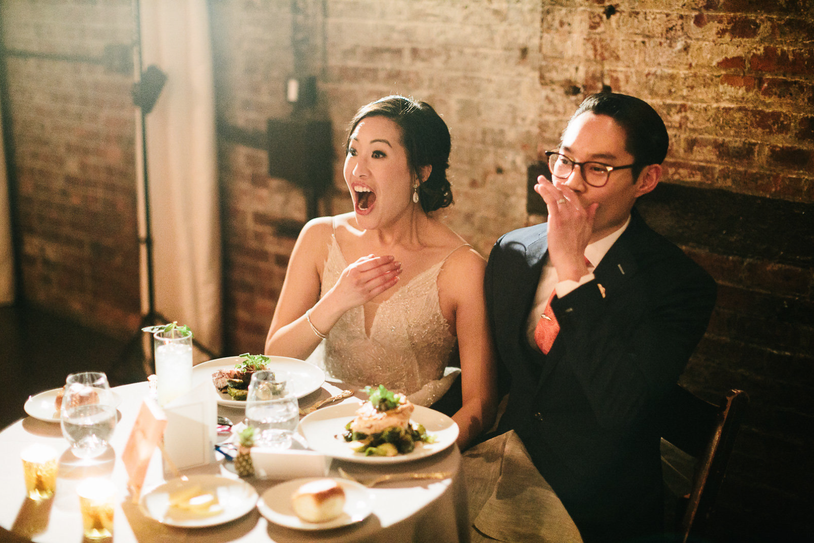 Photo Credit Chaz Cruz. Michelle and Henry's wedding catered by Ryan Brown Catering New York.