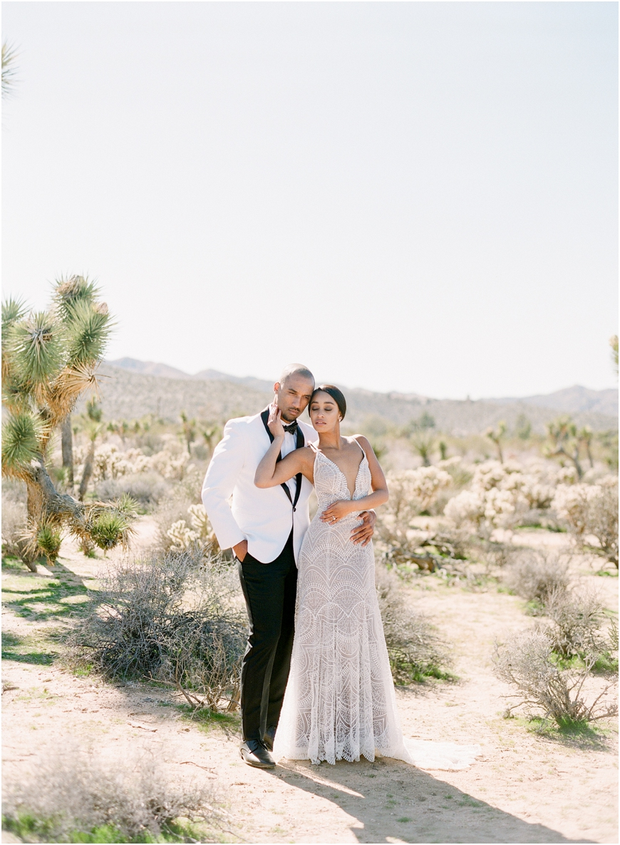 Joshua tree tumbleweed sanctuary wedding
