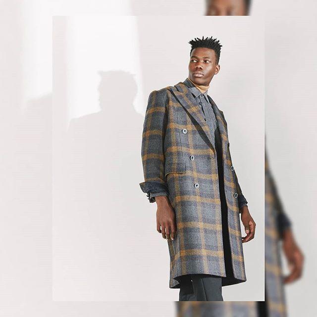 Marvin in @necessity_sense coat.styled by @claudiabielestudio.