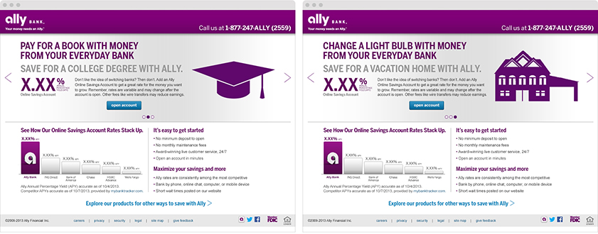 Ally Bank — Greg Motylenski : CMO/CD