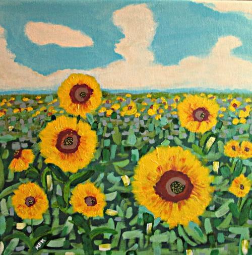 Sunflower Serendipity