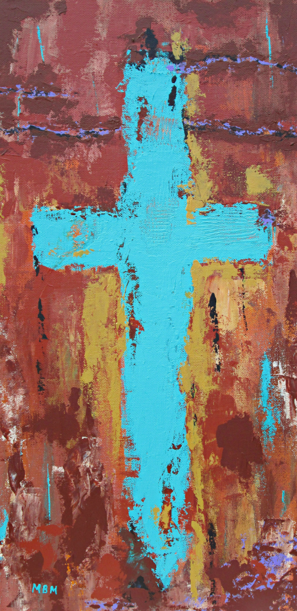 """Faith""  10"" x 20"" on gallery wrapped canvas"