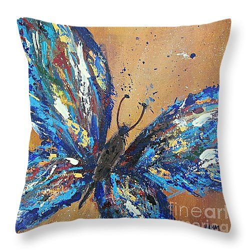 Throw pillow by Fine Art America