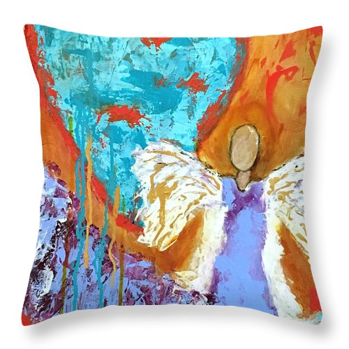 Comfy throw pillow from  Fine Art America