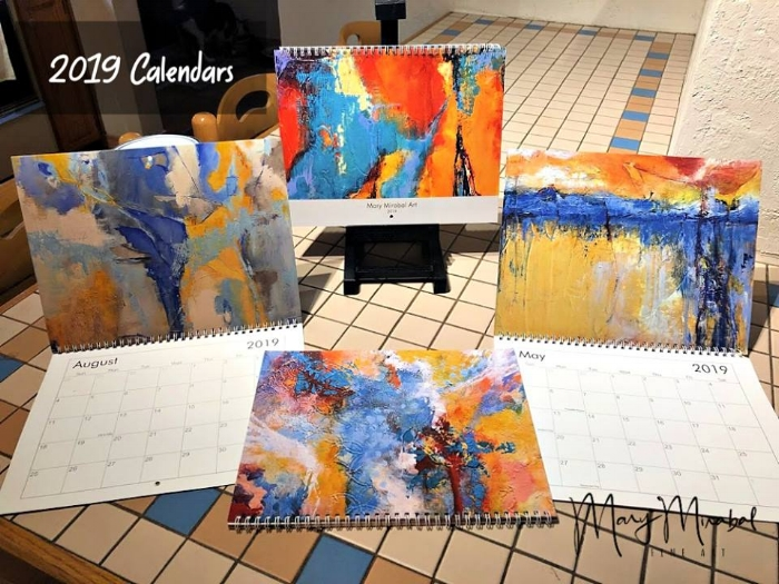 Mary Mirabal Art calendar