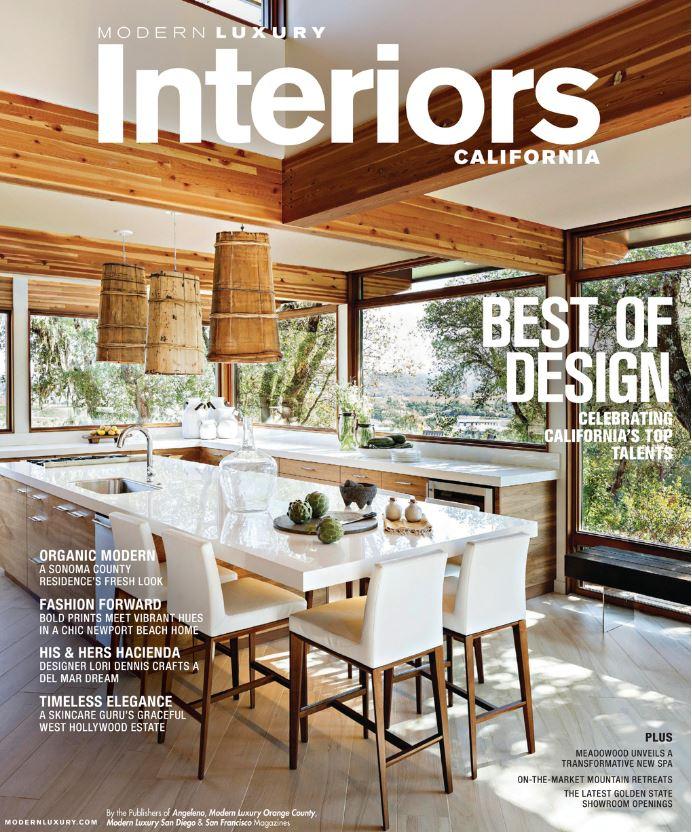 Modern Luxury Interiors California - Best of Design, Winter/Spring 2018