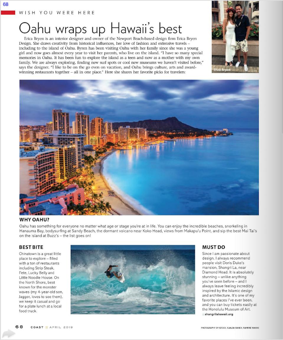 Coast Magazine - April 2019