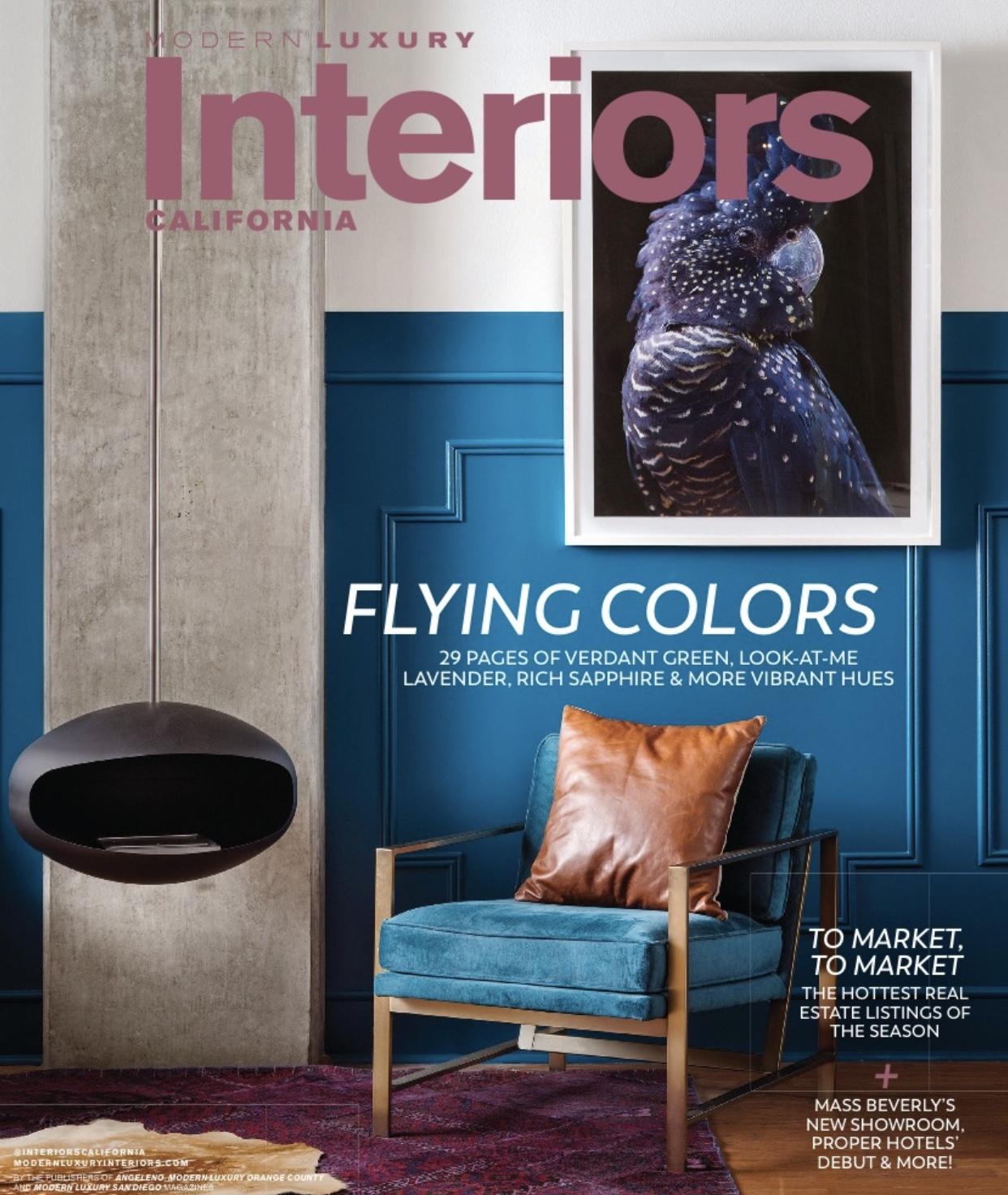 Modern Luxury Interiors California  - August 2019