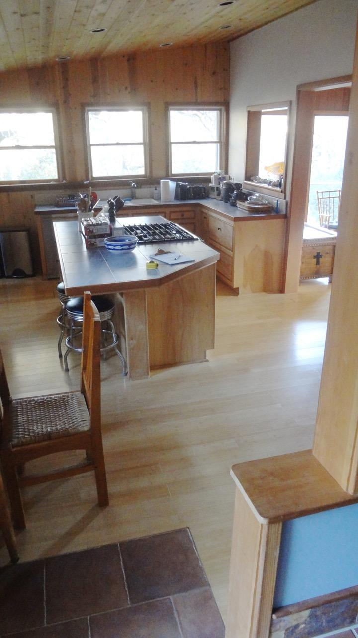 Original kitchen before