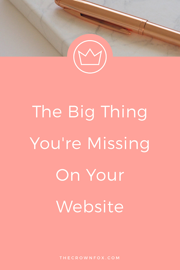 The Big Thing You're Missing On Your Website | 404 Pages Masterclass | TheCrownFox | Graphic Designer #websitetips #website