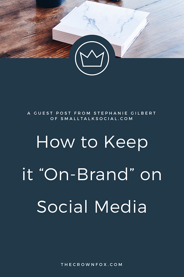 """Social Media - Keeping """"On Brand"""" On Social Media 