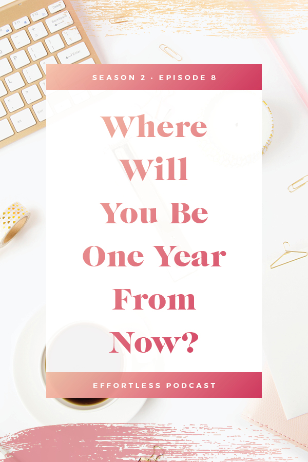 Visualization and Manifestation all depend on being extremely clear with what you want. Do you know what you want one  year from now? This episode helps you to define that! Click through to read the shownotes and listen - don't forget to subscribe and rate on iTunes! | EffortLess Podcast | TheCrownFox | #podcast #businesspodcast #mindsetpodcast