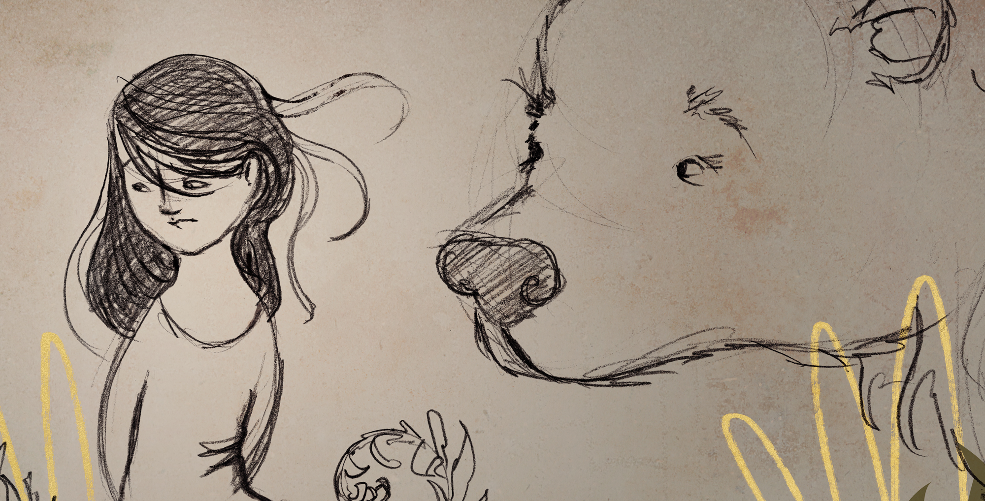 A peek into the sketch phase.