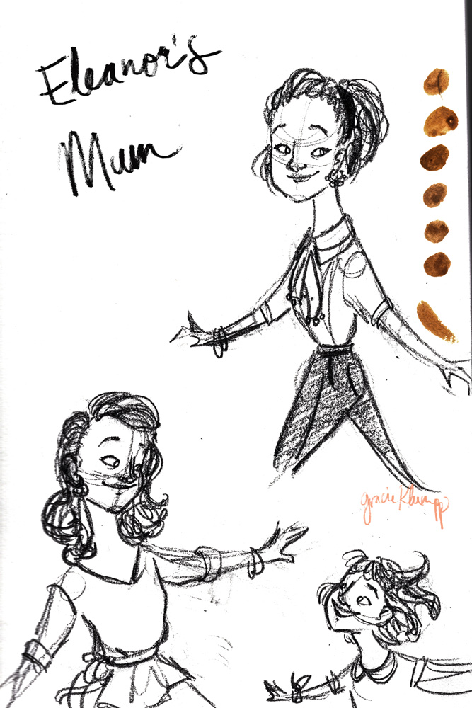More Character Exploration: Eleanor's Mum