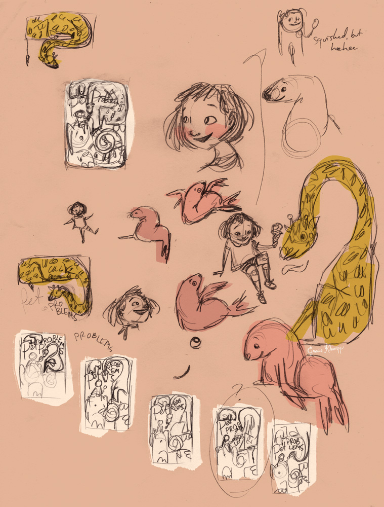 Some Thumbnails for the Cover