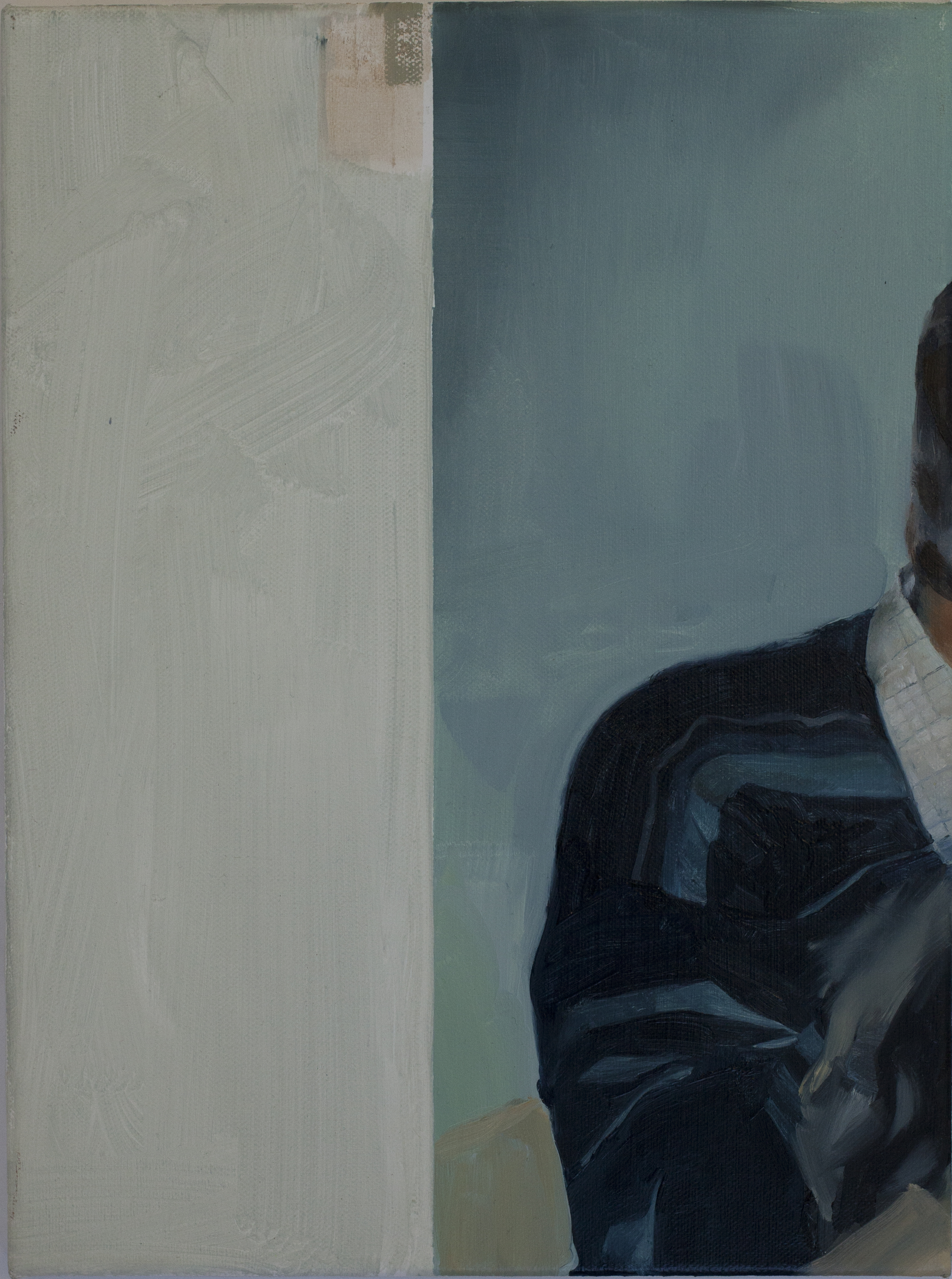 Blue Shoulder 2015 oil on canvas 40x45cm