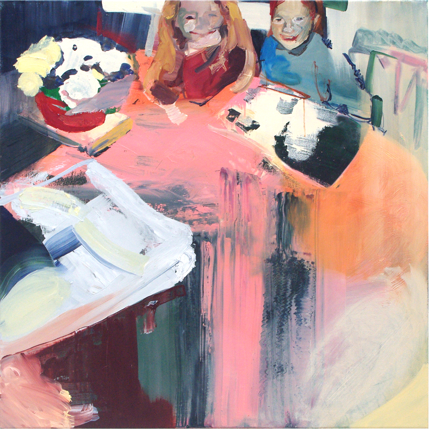 Little? (2015) Oil on canvas 90 x 90 cm