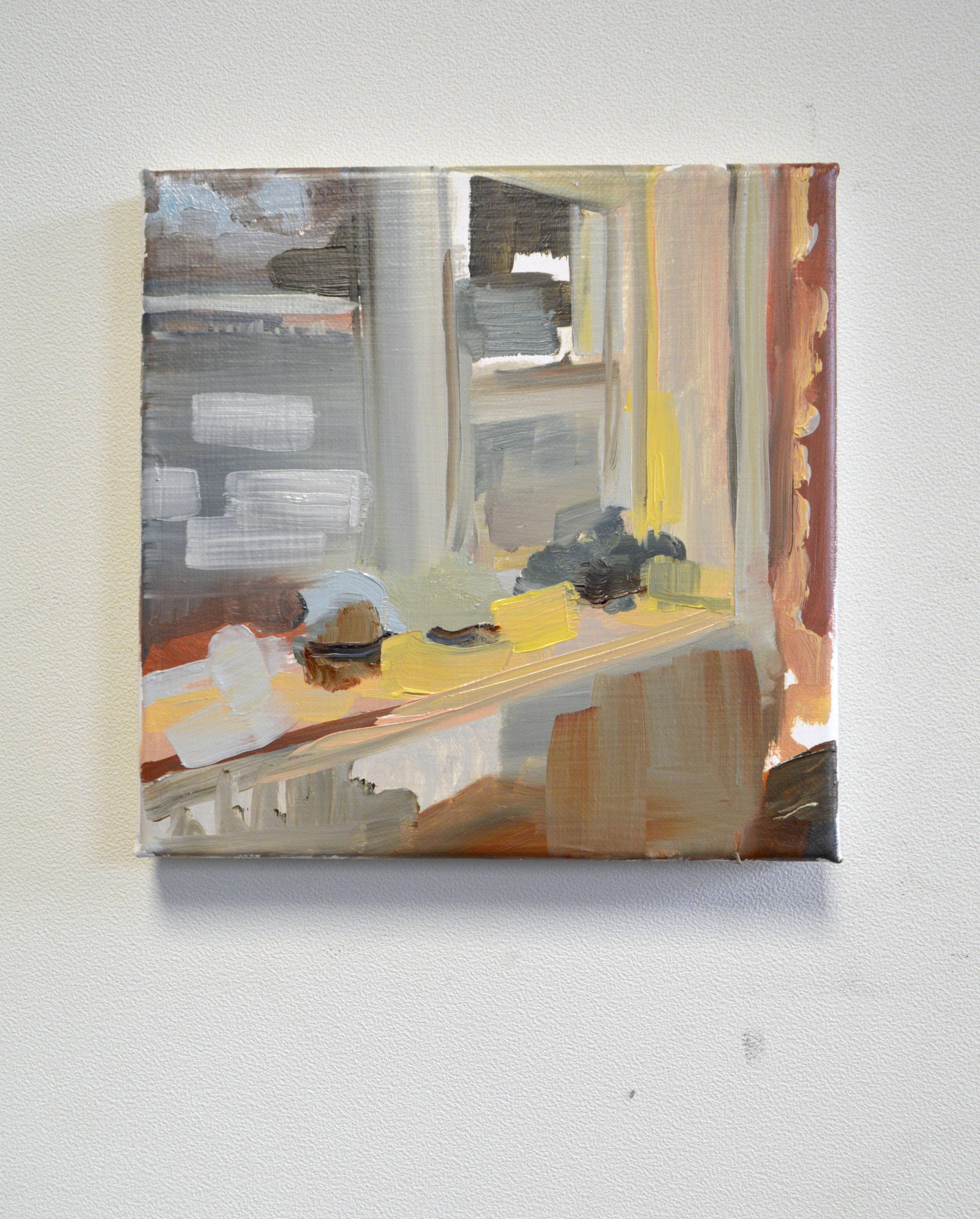 Window (2017) Oil on canvas, 20 x 20cm