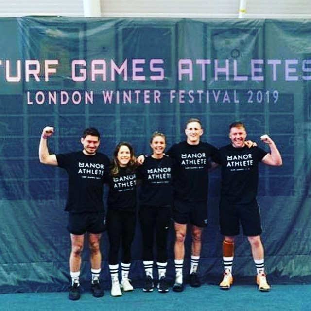 Massively proud of the team yesterday competing @turfgames Great way to celebrate my 33rd birthday 🎂 - Proud to watch Our members @mymanorlondon become amazing athletes for the day @joey_spencer66 @alexapple2 @aperkins1310 @bearfitness4 and big shout to my fellow coach and son @bfit.sc captain'ing the team and led them through all the workouts! - Days like that are why I became a coach... - #strength#strong#boxing#workout#strengthtraining#training#fitness#trainhard#sweat#squad#squadgoals#conditioning#strengthandconditioning#nikelondon#combat#coach#health#london#team#combatconditioning#athlete#fit#mymanor#yardwork#manorlondon#londonvictoria#madeinthemanor#theyard#mymanorlondon