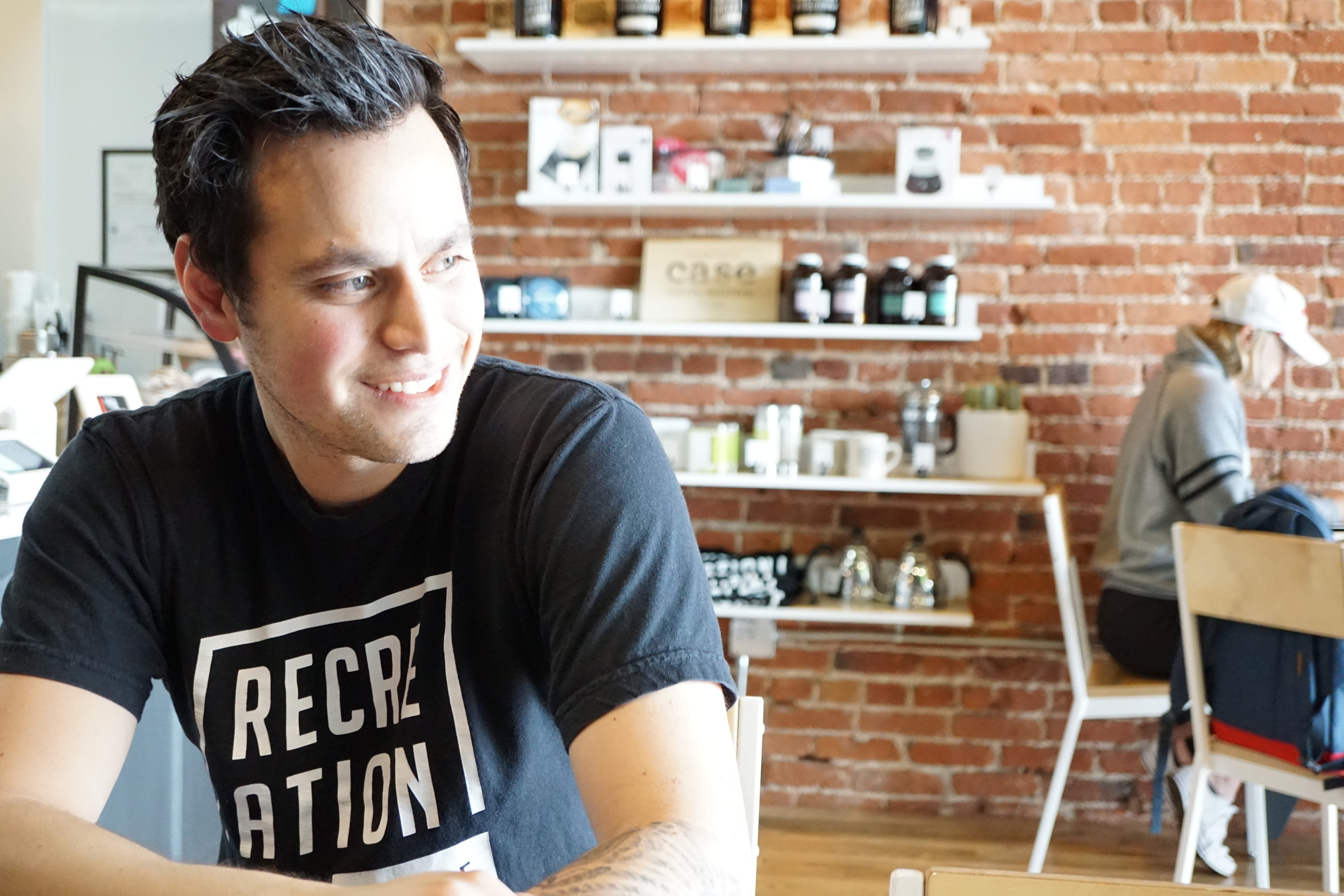 Bobby Hernandez, Founder & Owner of Recreational Coffee