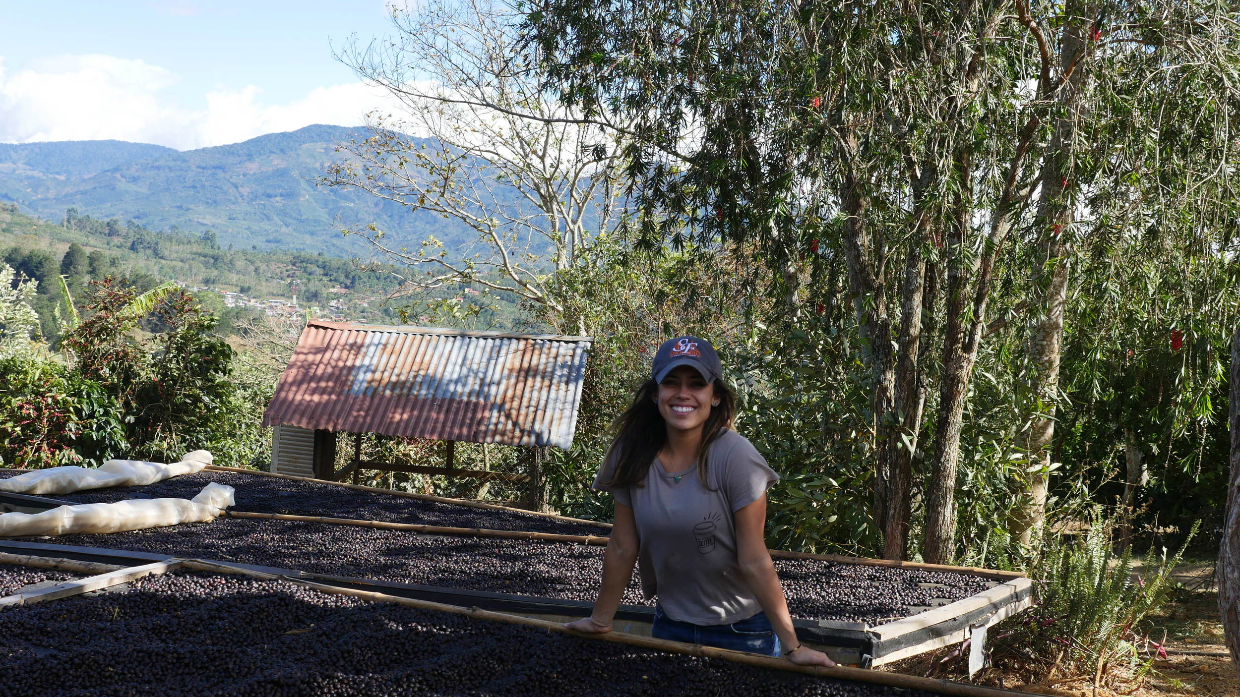 Here I am too stoked on this natural processed farm in Costa Rica