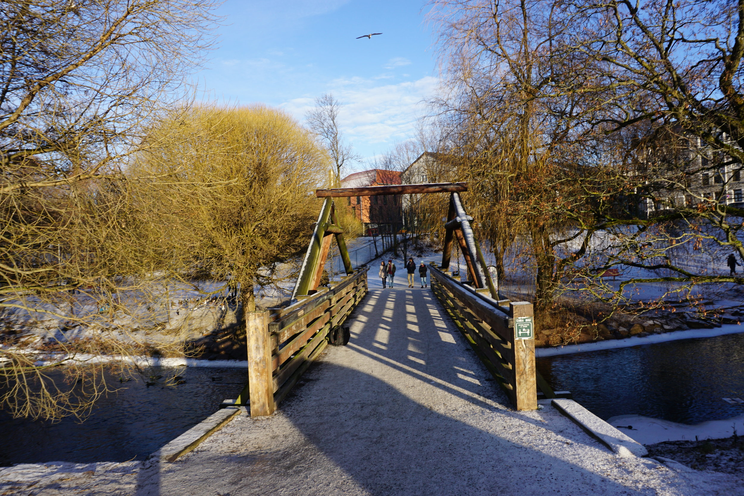 Bridge near Tim Wendelboe Cafe in Oslo. You'll think differently of this bridge by the end of this post.