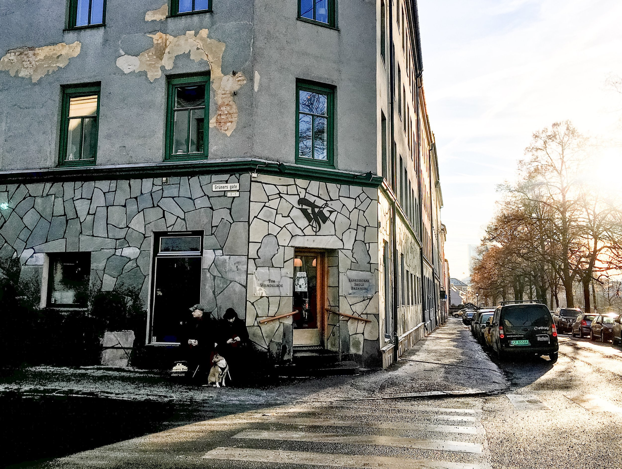 Tim Wendelboe Cafe in Oslo, Norway copyright @TheCoffeeNomad