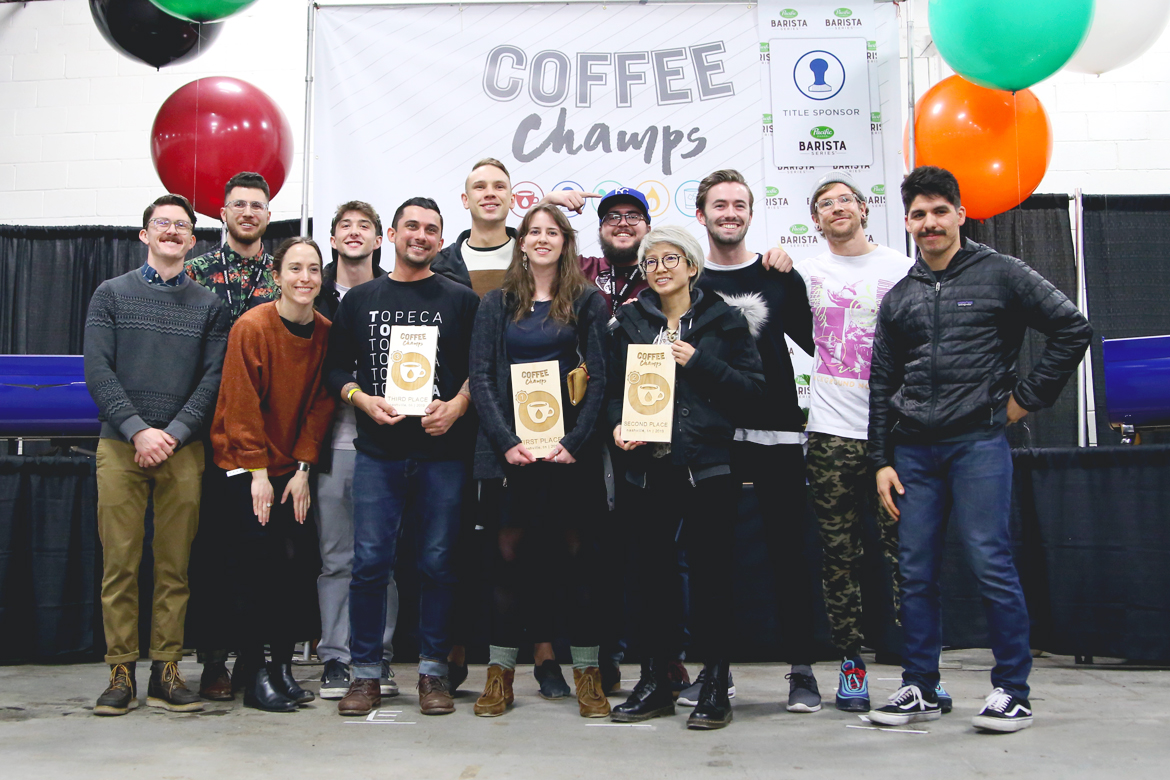 Photo from US Coffee Champs;  Learn more about the Finalists here
