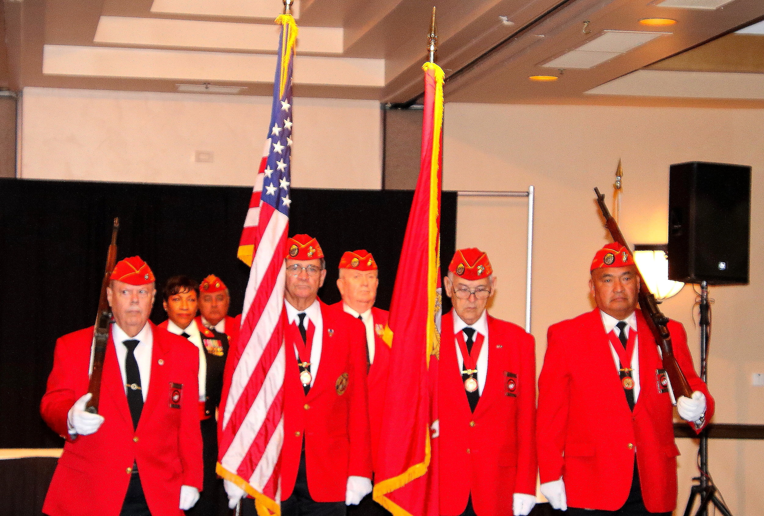 Prior to Presenting Colors